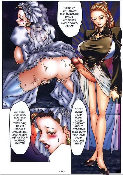 Shemale Hentai Angels. Futanari dickgirl